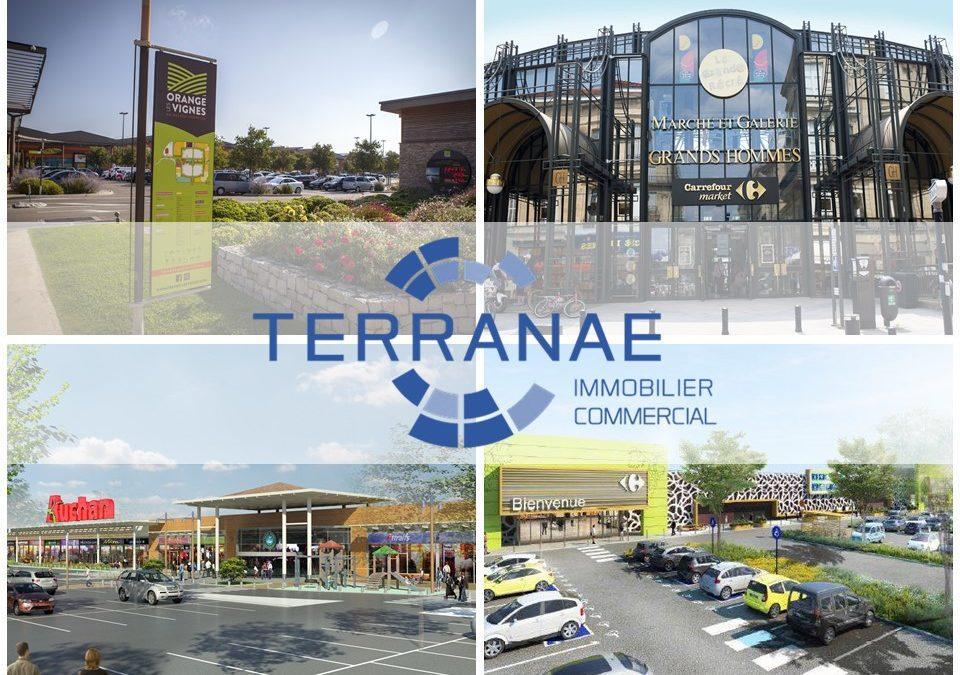 11 mai 2020 : réouverture de la totalité de 52 Centres Commerciaux/Retail Parks gérés par les équipes de Terranae