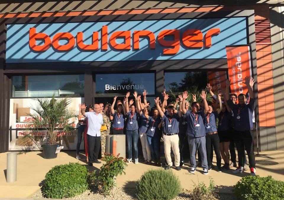Boulanger ouvre les portes de son nouveau magasin à Orange les Vignes