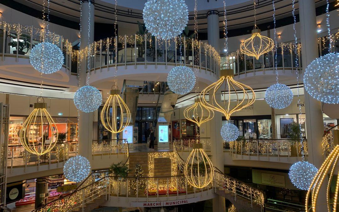 Noël s'installe dans la Galerie des Grands Homme